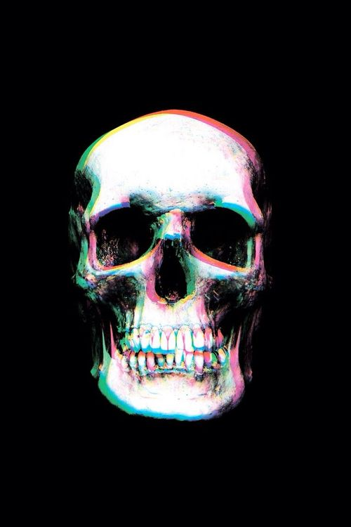 skull, wallpaper, and dark image