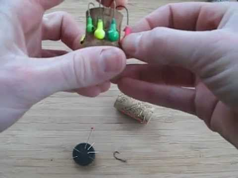DIY Storing Fish Hooks, Lead Jigs, and Hook leaders. Fishing Tackle Box Organizing