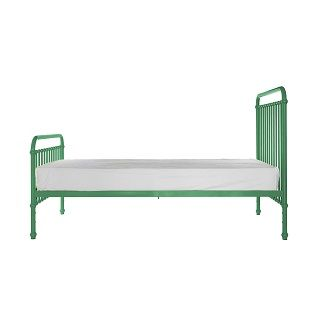 Miller Single Bed A classical and timeless single bed.  Miller comes in a gorgeous spearmint colour.  Expertly crafted of sturdy and strong metal with simple curves. $549.00 #sweetcreations #decor #nursery #baby #furniture #toddlers #kids