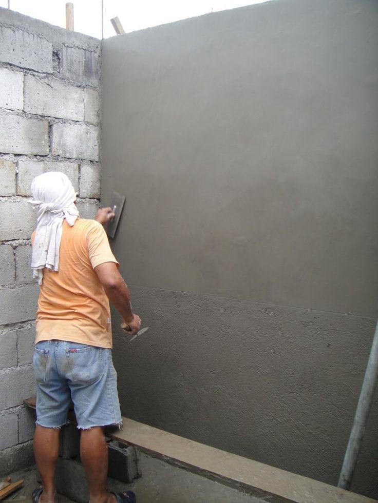 Wande Verputzen Tipps Und Anleitung Zum Selbermachen Diy Wandverkleidung Zenideen Wand Verputzen Verputzen Aussenwand Verputzen