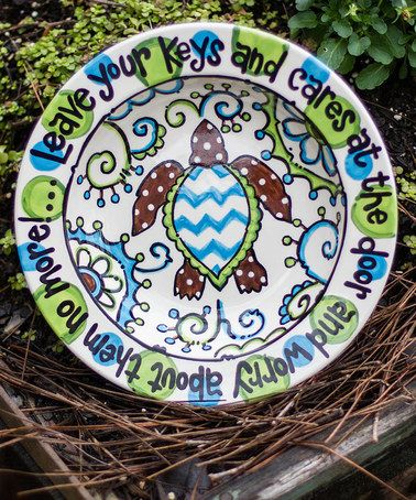 Another great find on #zulily! Sea Turtle Key Bowl #zulilyfinds