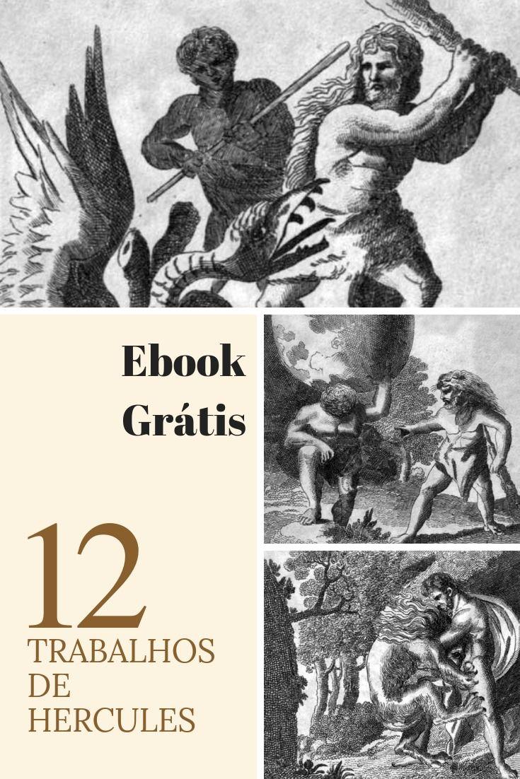 Os Doze Trabalhos De Hercules Ebook Gratis Mitologia Greco