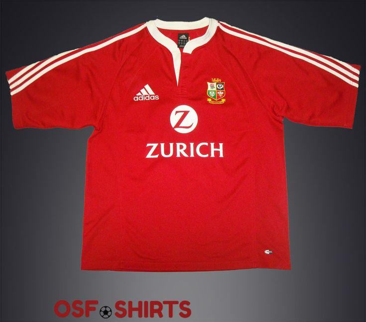 BRITISH & IRISH LIONS HOME 2005 RUGBY UNION (M) ADIDAS RUGBY SHIRT Jersey #Adidas #BritishIrishLions