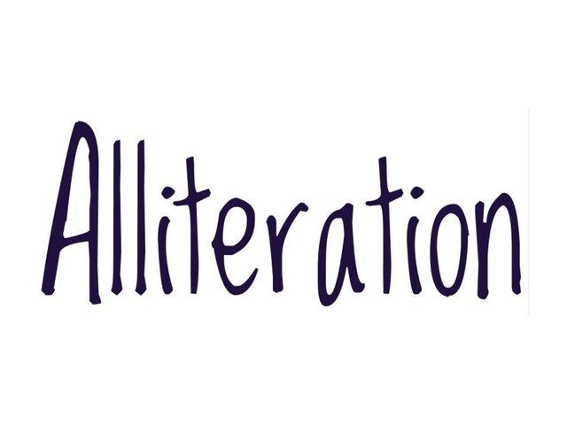 Alliteration Lesson by Christine Neubauer. This digital vodcast is a lesson on a poetic device, alliteration.