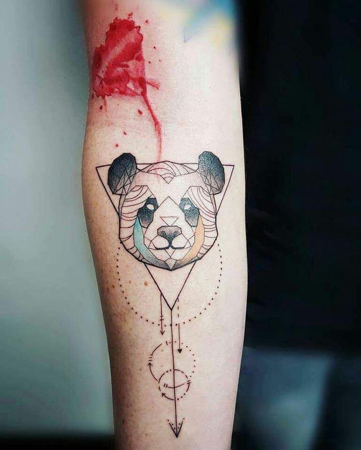 17+ Best Ideas About Panda Tattoos On Pinterest