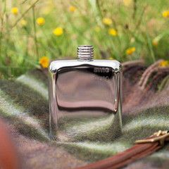 Swig Naked Hip Flask - front