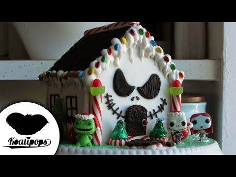 Nightmare Before Christmas Gingerbread House | How To | Christmas - YouTube