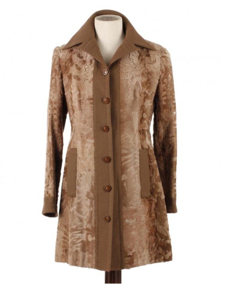 #RIDELLA-BIFFI Milano #astrakhan http://www.madeinused.com/product/ridella-biffi-milano-shaved-astrakhan-coat-60s/