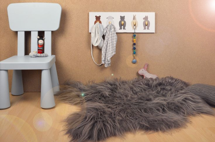 Hip hip hurray: DIY #Kindergarderobe mit süßen Tiermotiven! #creatisto #kids