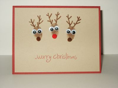 fingerprint reindeer - love!