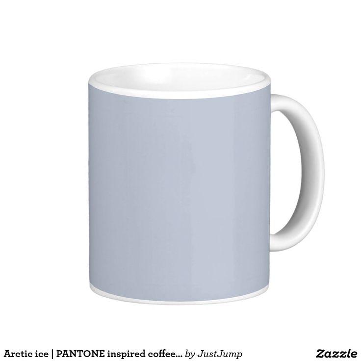 Arctic ice | PANTONE inspired coffee mug