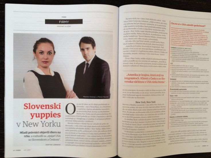 Forbes Slovakia July 2013 Why we do what we do.