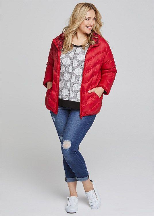 Puffer Jacket #takingshape #plussize #curvy