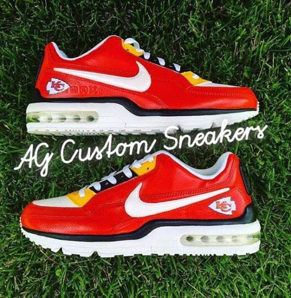 sports shoes 21694 d913c Make your own Custom Sneakers by AG. Make your own Custom Sneakers by AG Kc  Football, Kansas City Chiefs ...