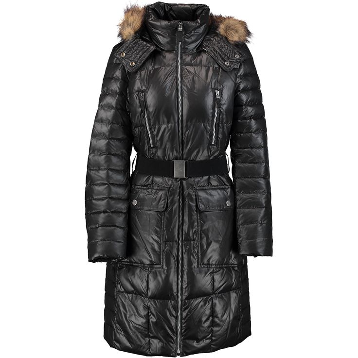224 best Long Down Coats I really really want !! images on Pinterest   Faux fur, Ladies coats