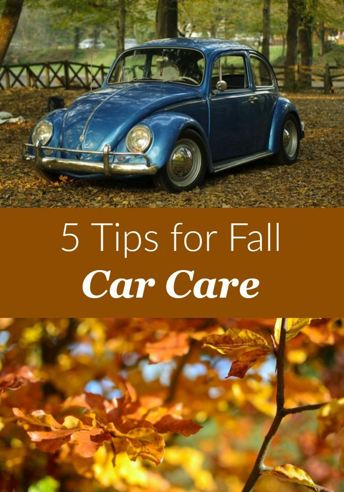 Make sure your car is ready for the winter months with these fall car care tips!