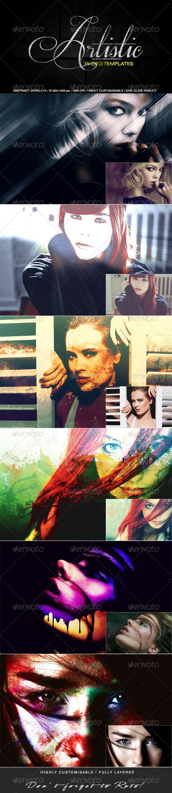Artistic Photo Templates