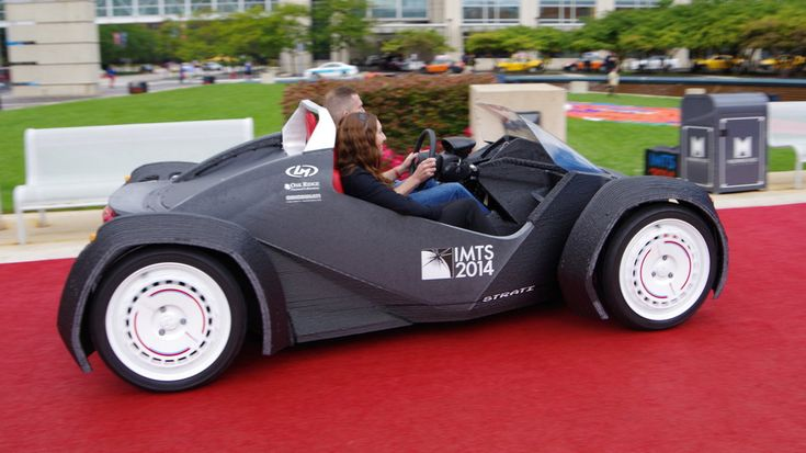 The first #3D printed car! This rocks!