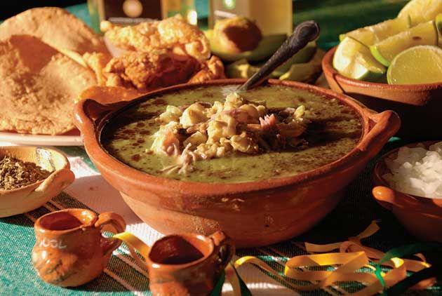 Pozole Verde de Guerrero, tradicion de los dias jueves