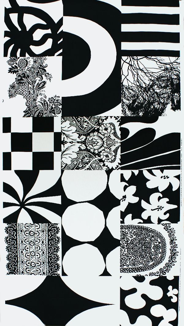 Pattern ... Marimekko. - wouldn't these look gorgeous as mix and match tiles