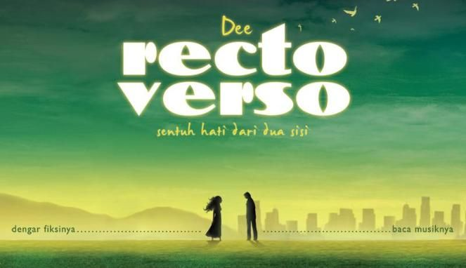"""RECTOVERSO"" one of my favorite books, karya Dewi Lestari - dee"