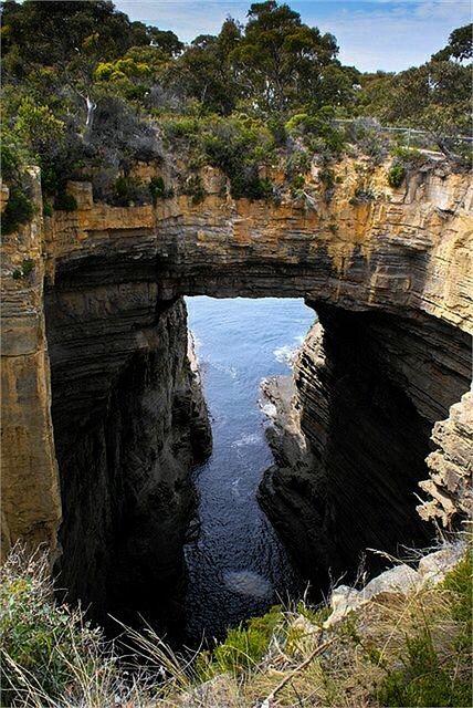 Eaglehawk Neck, Tasmania, Australia.