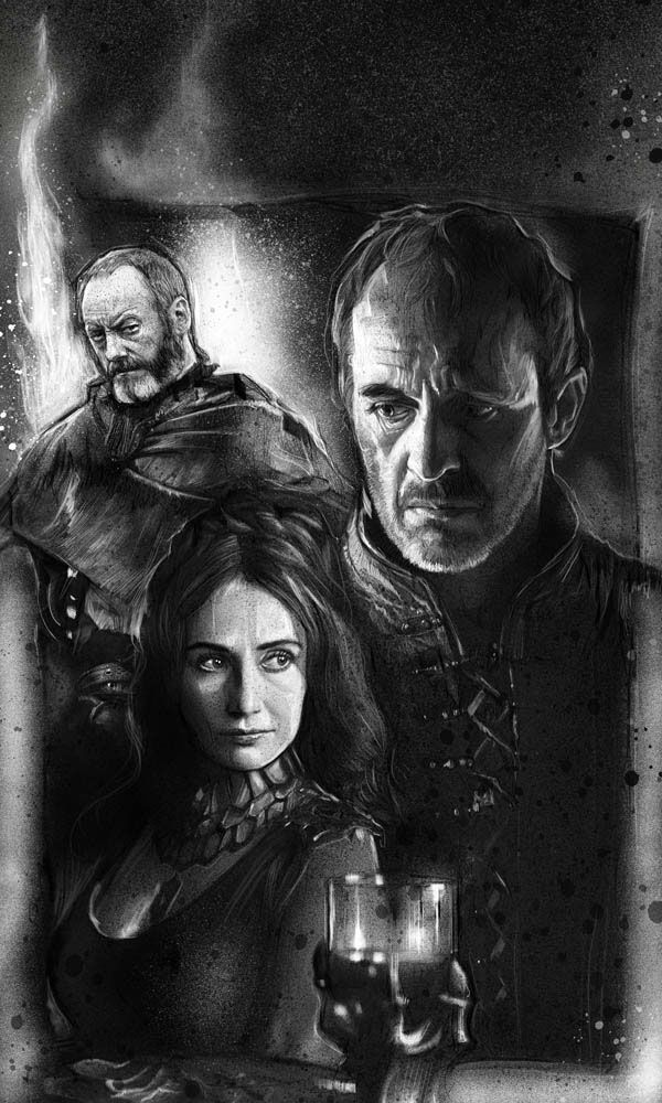 Game of Thrones Calendar Portraits - Created by Paul Shipper You can also follow Paul on Facebook and Twitter.