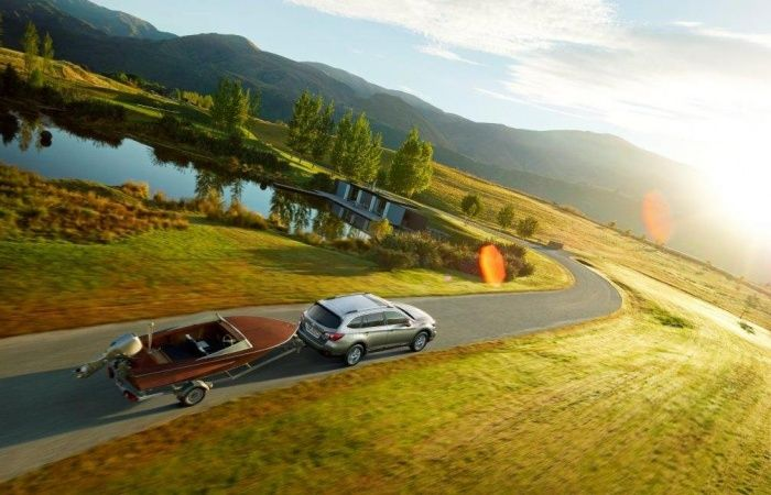 Subaru отмечает 20-летний юбилей кроссовера Outback