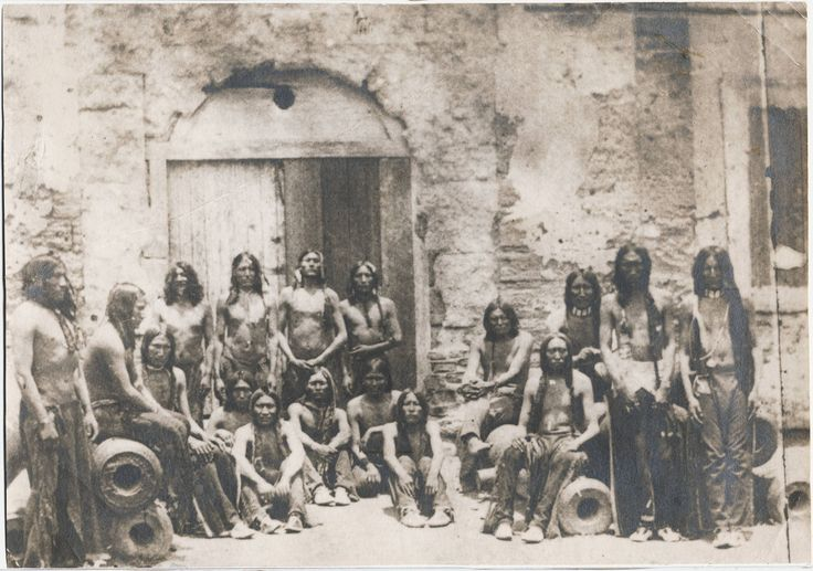Native American prisoners at the old Fort St. Augustine Florida 1875. Shameful period in the US Federal Yankee History.