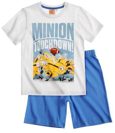 Minions Short Sleeve Pyjama blue