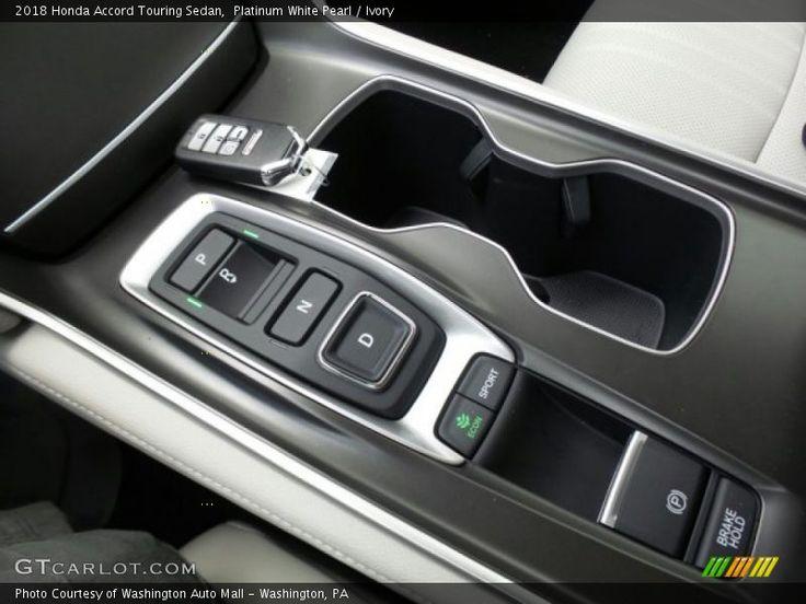 Platinum White Pearl Ivory 2018 Honda Accord Touring Sedan Honda Accord Touring Honda Accord 2018 Honda Accord
