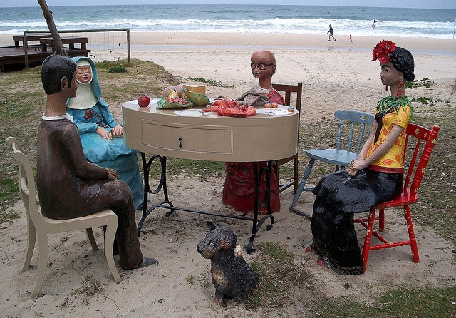 1037 The Second Last Supper - Monte Lupo Qld by TheTannykid, via Flickr  #swell2012  www.swellsculpture.com.au  @swellsculpture