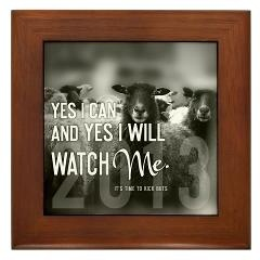 Framed Tile > 2013 Yes I Can + Gifts > TimeToKickBuTs Store  $12.99