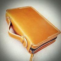 聖書カバー・スライド式持ち手付き/Bible case with handle