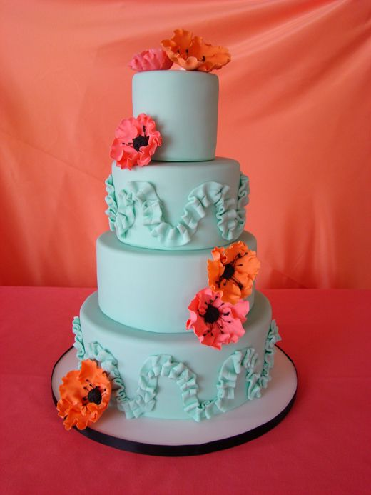 Non-traditional cakes from inticingcreations in San Francisco