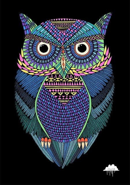 Mulga The Artist Owl