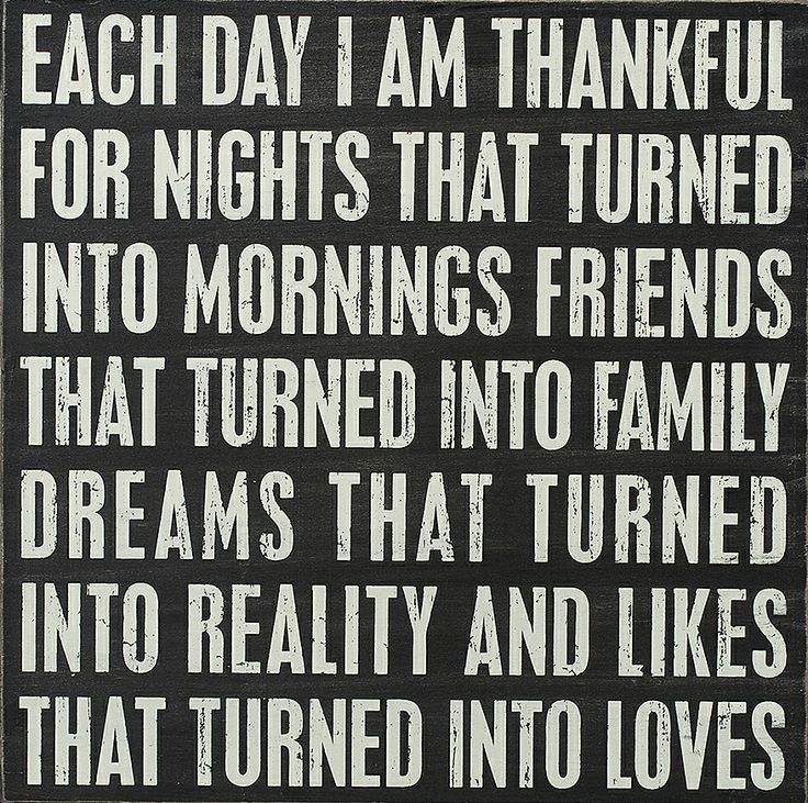 'I Am Thankful' Box Sign