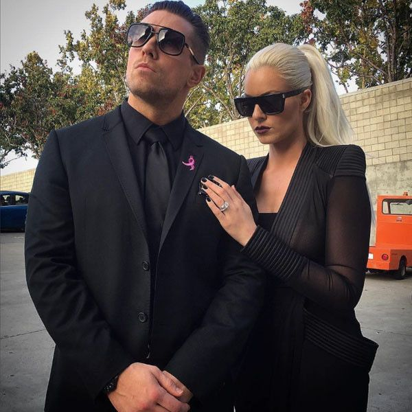 "Coordinating Couple from The Miz & Maryse's Cutest Pics  ""Even in mourning we still have style #ItCouple #Repost @wwe @mikethemiz and @therealmaryseouellet entered #SDLive today to mourn the death of the #ICTitle.... #WWE,"" they shared."