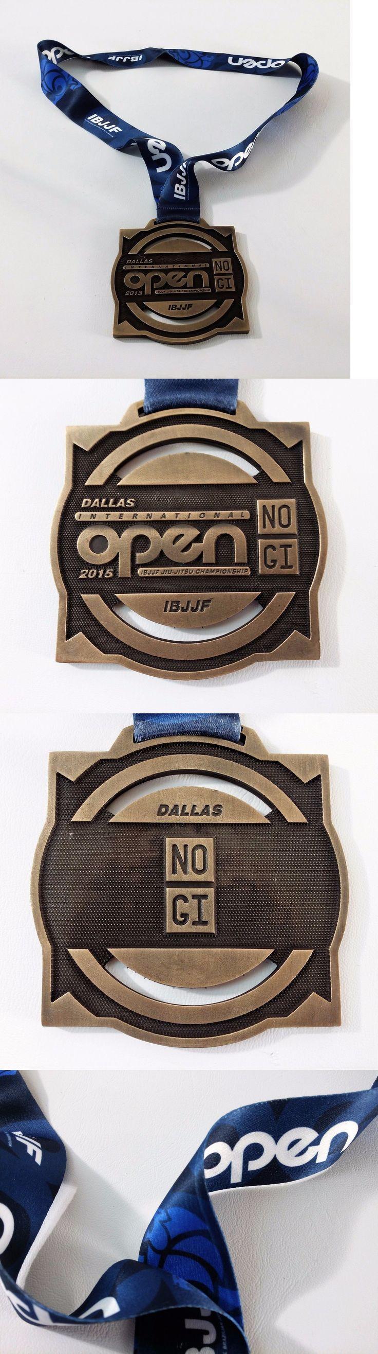 Other Combat Sport Supplies 16044: 2015 Dallas Tx Open Ibjjf Jiu Jitsu Championship Bronze Medal Trophy No Gi Award -> BUY IT NOW ONLY: $39.95 on eBay!