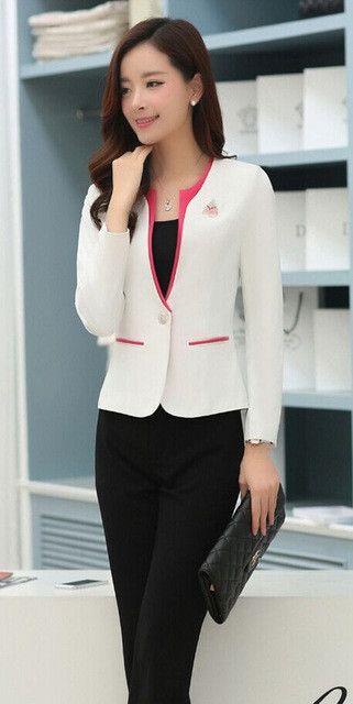 Special Offer Pantsuit Women's Suits Business Womens Pantsuit Hot Salon Girl Office Uniform Designs Women New PantSuits
