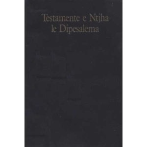 New Testament and Psalms in Southern Sotho, or Southern Sesotho Language / Testamente e Ntjha le Dipesalema / a Bantu language spoken primarily in South Africa, where it is one the 11 official languages, and in Lesotho/ Standard orthography 1976 tran    $49.99