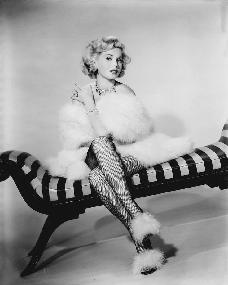 """We Had Faces Then — Zsa Zsa Gabor, 1954   """"Being jealous of a..."""