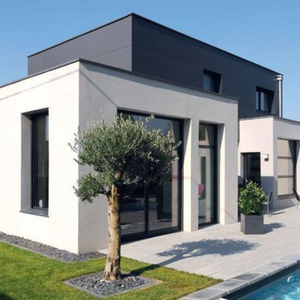 25 best ideas about plan maison moderne on pinterest for Constructeur maison contemporaine nice