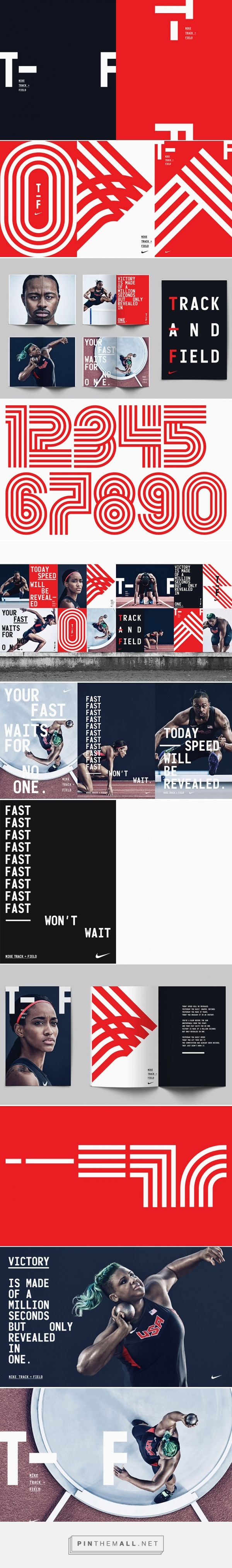 It's Nice That | Build and the Nike brand team creates bold branding for Nike's Track and Field line - created via https://pinthemall.net
