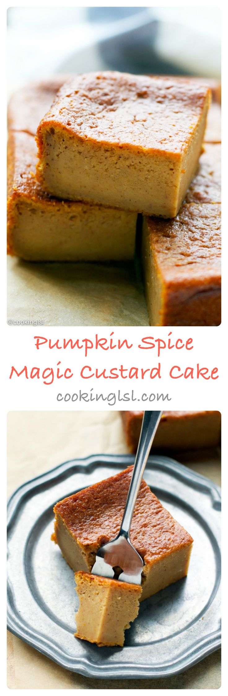 #NestleHoliday #cbias #ad pumpkin-magic-custard-cake-recipe