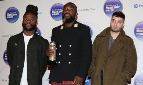 Young Fathers, winners of the Mercury Prize 2014