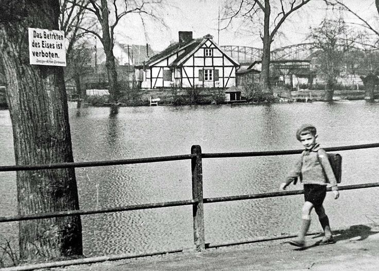 Staw w Kuźniczkach, Gdańsk Wrzeszcz 1940