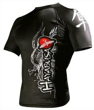 Black Hayabusa MMA Shirt