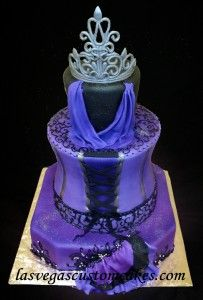 quinceanera cake w name