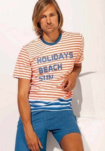 Pijama verano Soy Underwear modelo Hollidays. 100% algodón